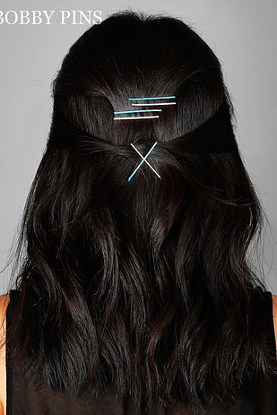 Creative Ways to Wear Bobby Pins