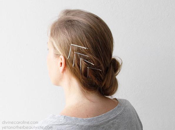 Creative Ways To Wear Bobby Pins Pretty Designs