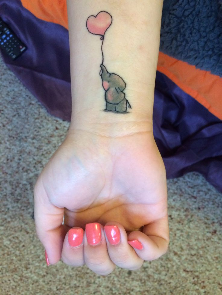 12 elephant tattoo designs for this week pretty designs - Cute elephant tattoos tumblr ...