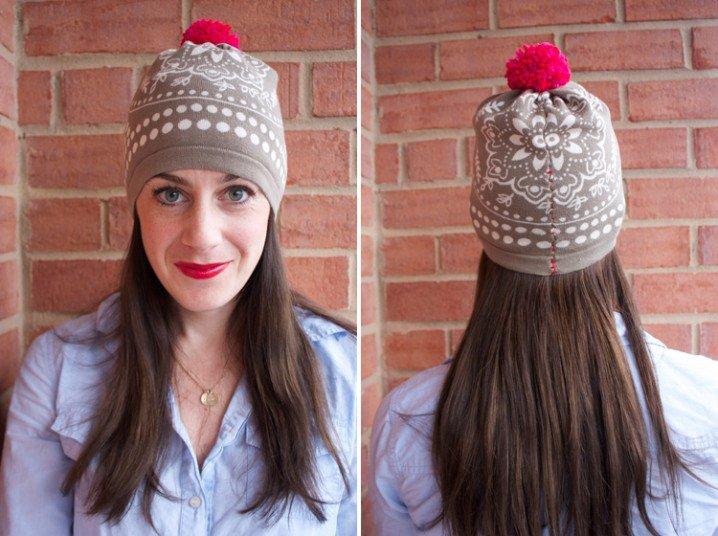 Cute Pom Beanie Hat