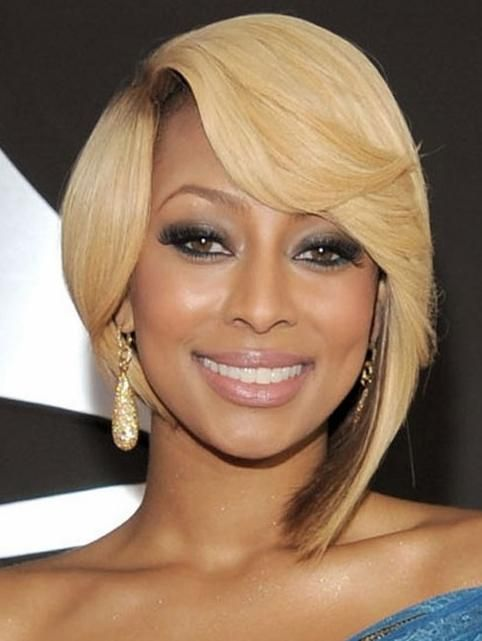 Cute Short Bob Hairstyle for Black Women