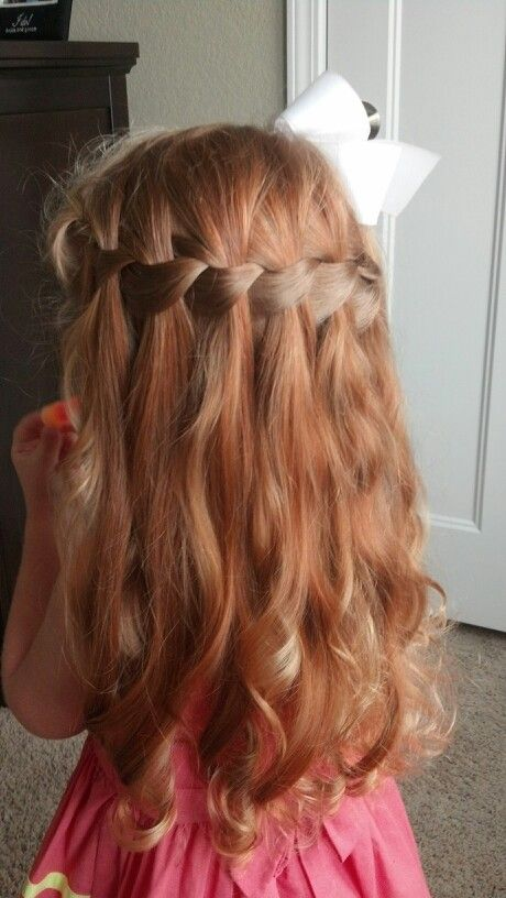 14 Stunning Waterfall French Braids for Girls - Pretty Designs