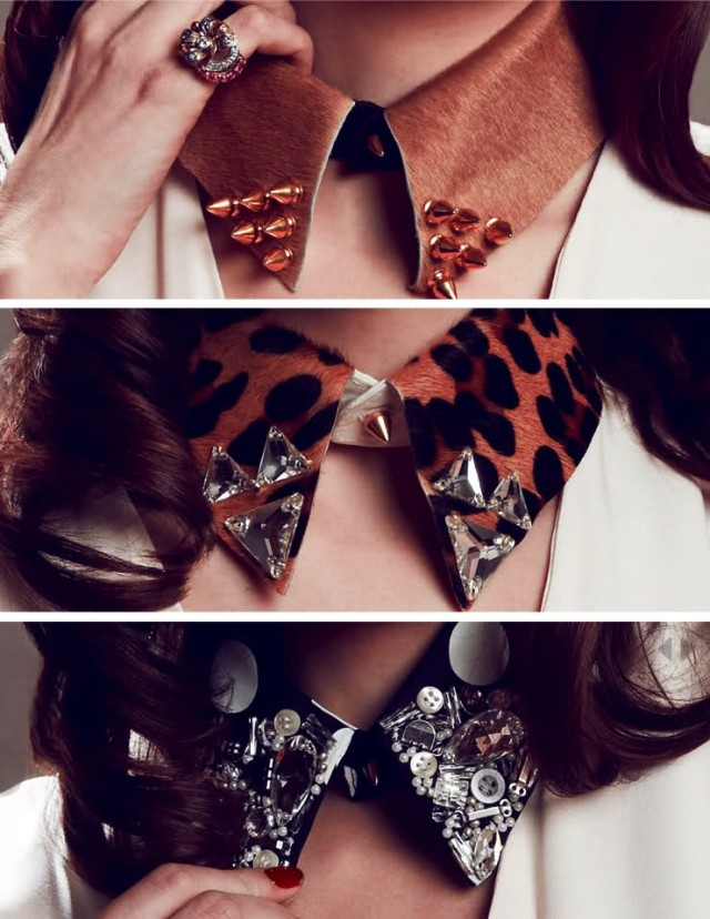 DIY Embellished Collar Idea