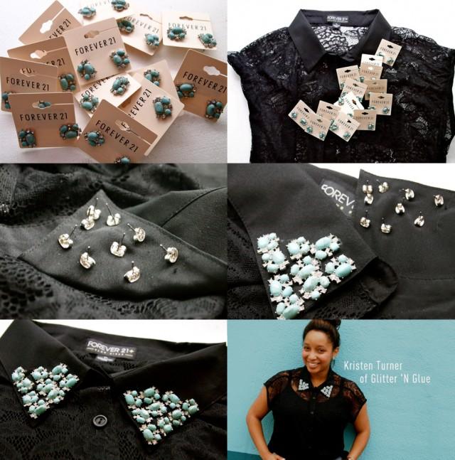 DIY Bead Embellished Collar