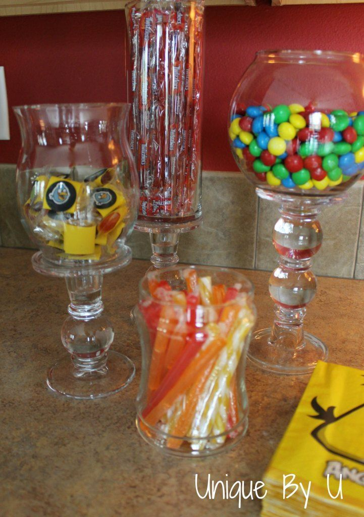 DIY Candy Storage