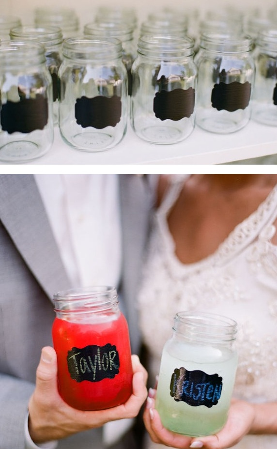 DIY Couple Jars