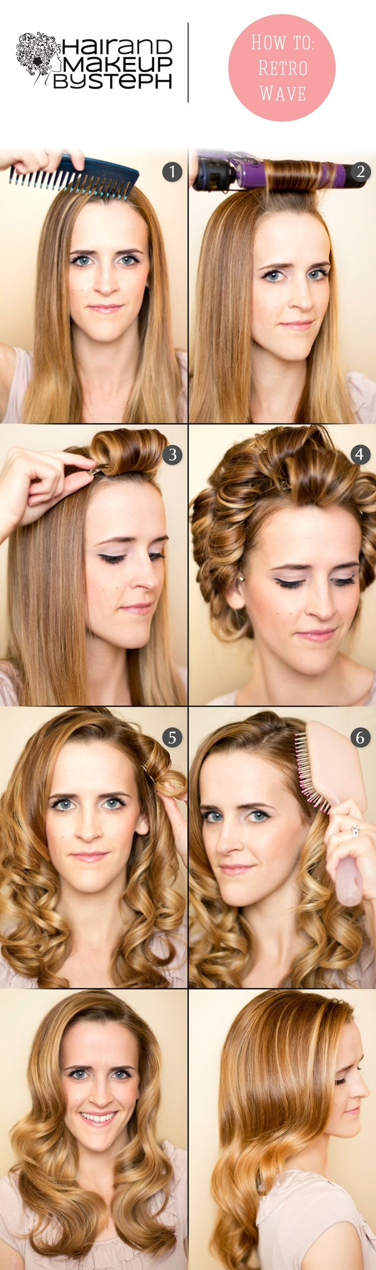 DIY Retro Curls Tutorials