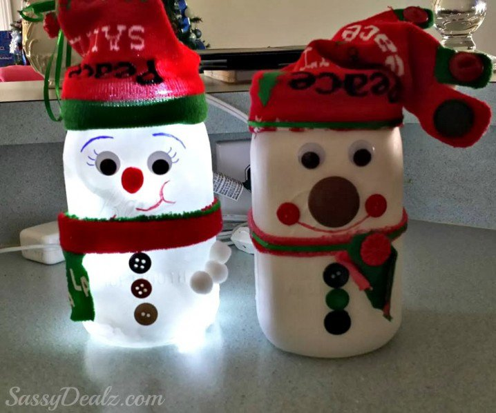 How To Decorate Mason Jars For Christmas Gifts Magnificent Christmas DIY Ideas Recycle The Mason Jars At Home Pretty Designs