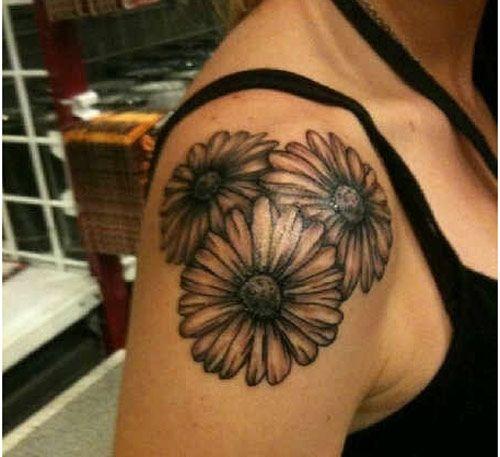 12 Pretty Daisy Tattoo Designs You May Love Pretty Designs