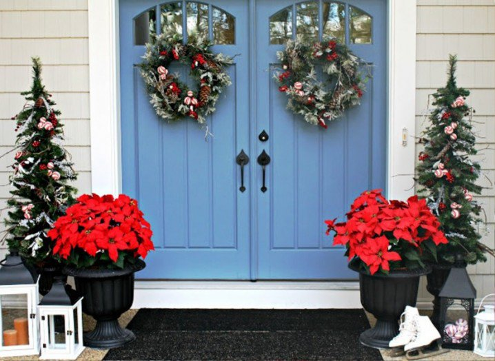 Easy Decoration for Front Porch