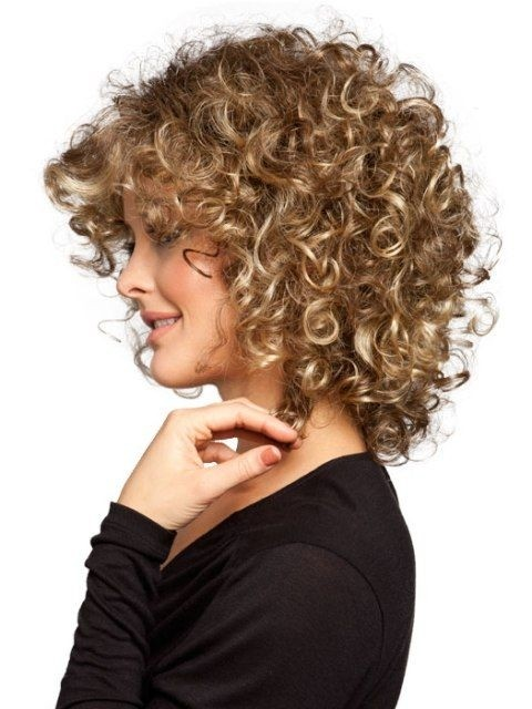 Edgy Voluminous Curls