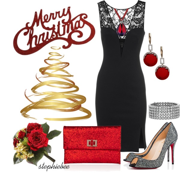 Elegant Christmas Party Outfit