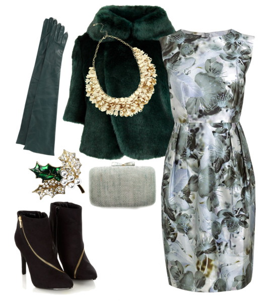 Emerald Green Outfit Idea for Party