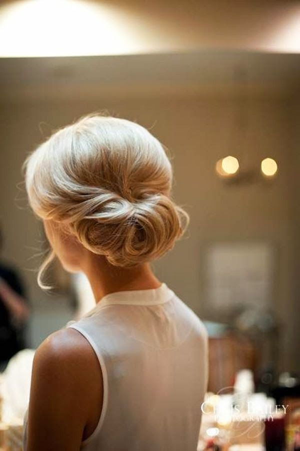 Fabulous Wedding Low Bun Hairstyle