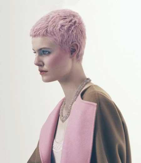 Fairy Light Pink Hair Color