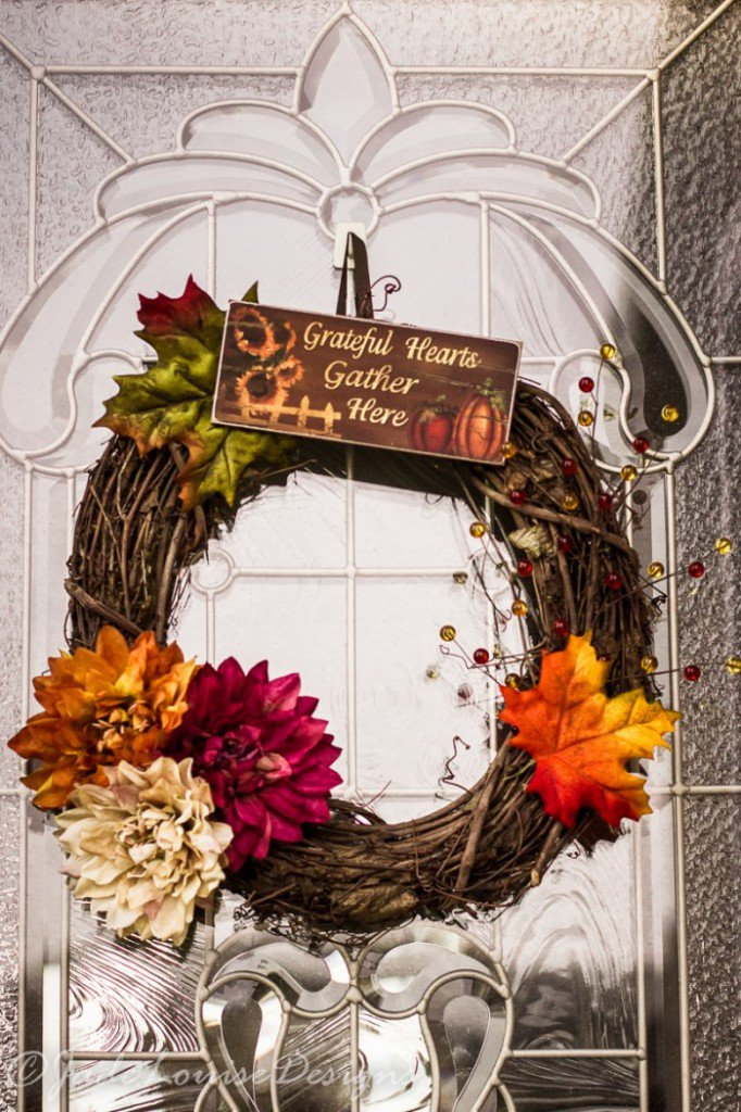 13 Wreath Ideas For Your Thanksgiving Door Pretty Designs