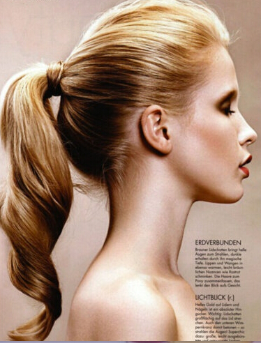 13 Stunning Ponytail Hairstyles for Curly Hair - Pretty Designs