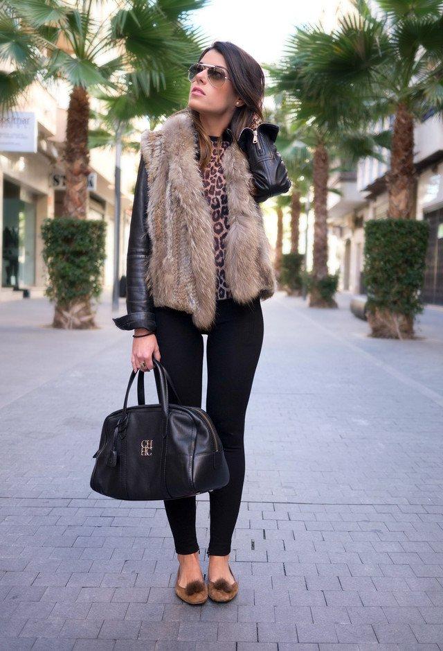 Fur Vest for Winter 2015