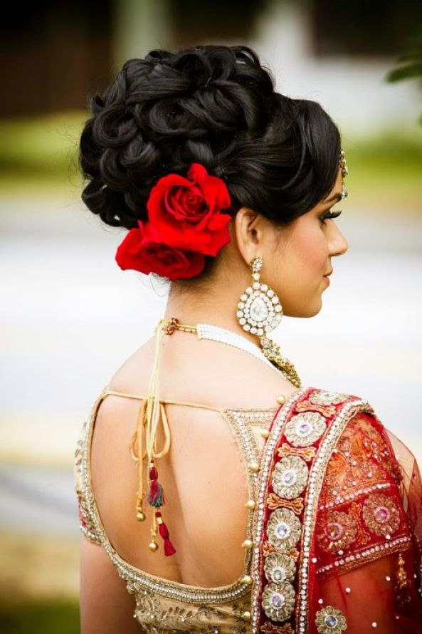 Indian Wedding Hairstyles 42