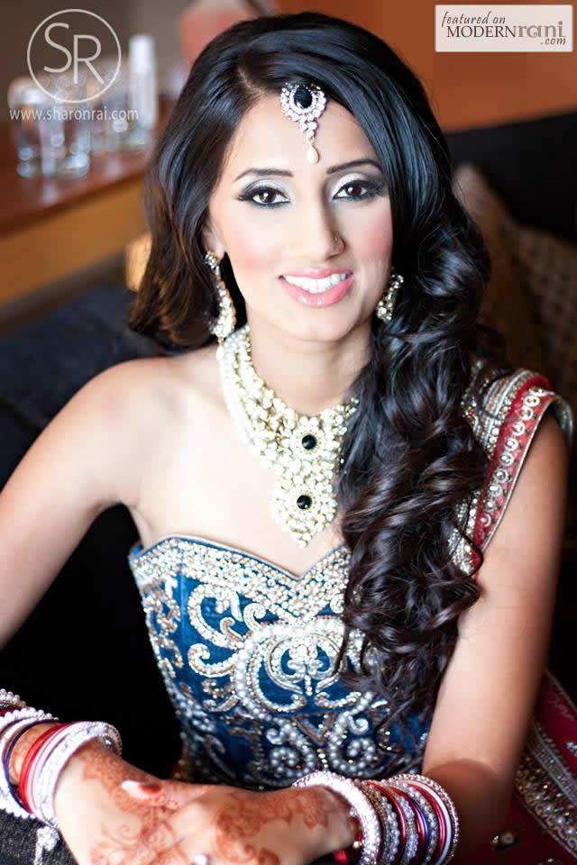 Pleasing 16 Glamorous Indian Wedding Hairstyles Pretty Designs Hairstyles For Men Maxibearus