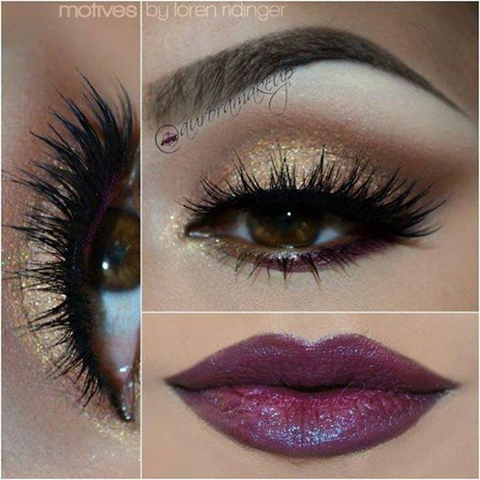 14 Stylish Shimmer Eye Makeup Ideas for New Yearu0026#39;s Eve ...