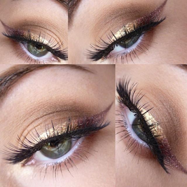 Golden Ombre Eyeliner