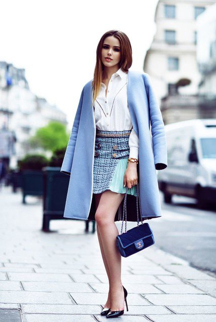 Gorgeous Winter Outfit Idea with Coat