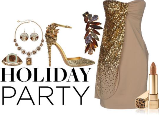 Graceful Party Outfit Idea
