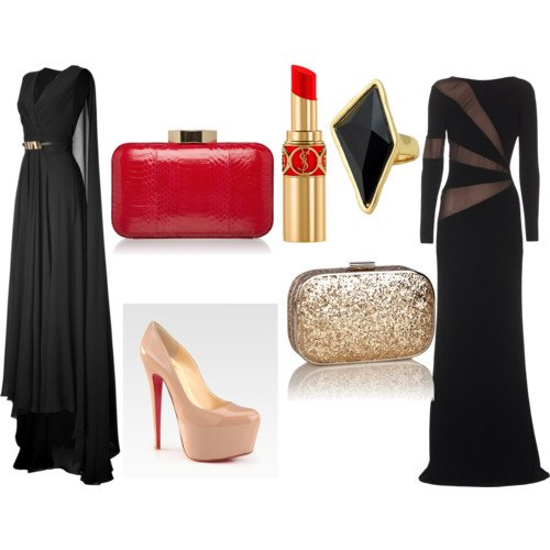 Graceful Polyvore Outfit Idea for Holiday