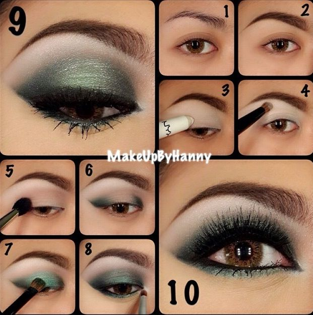 Green Eye Shadow for Brown Eyes