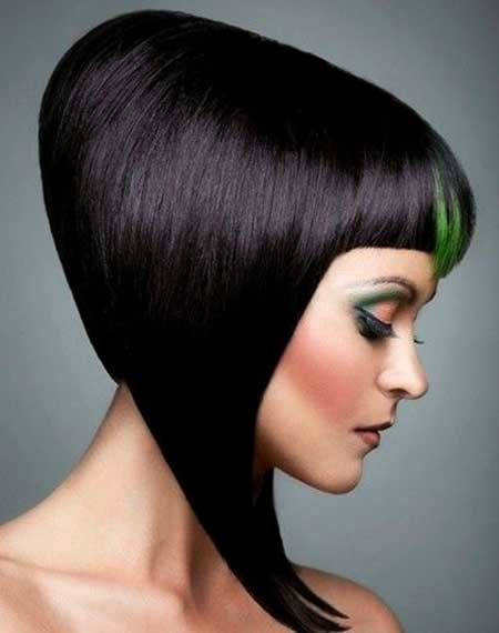 Green Highlighted Hair Color