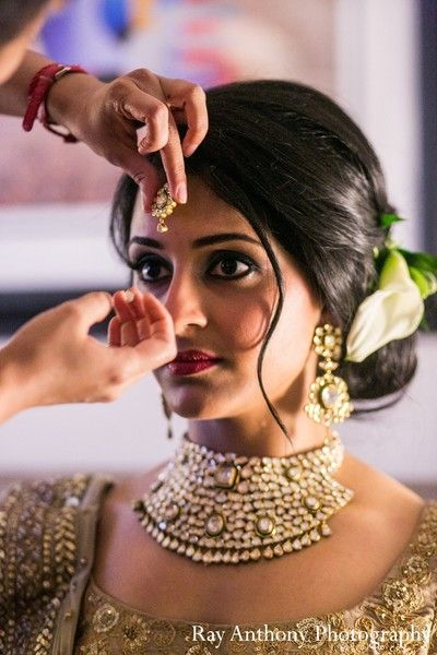 Sensational 16 Glamorous Indian Wedding Hairstyles Pretty Designs Hairstyle Inspiration Daily Dogsangcom