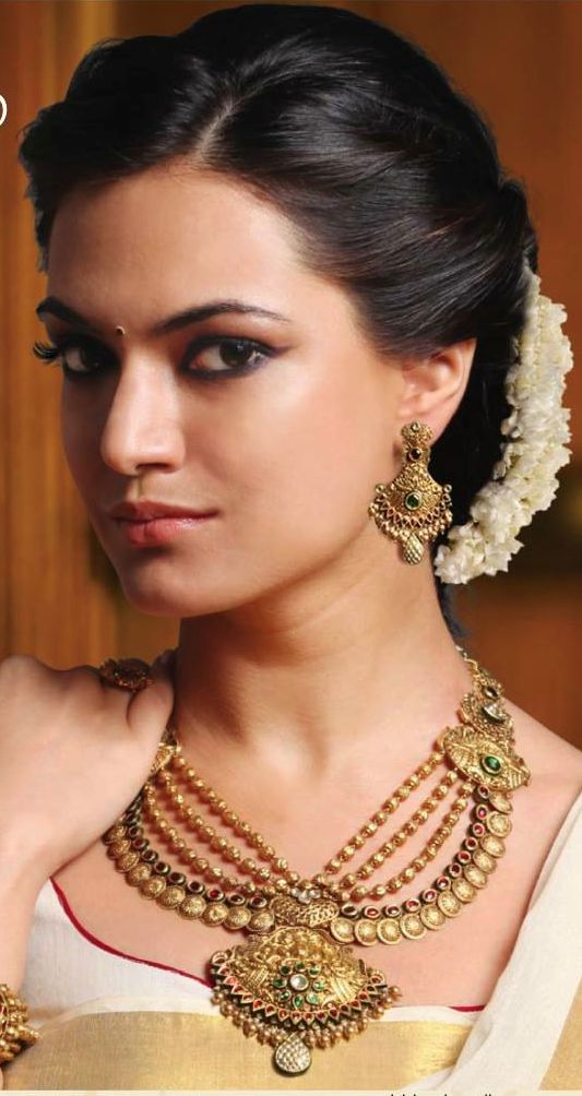 Indian Wedding Updo Hairstyle