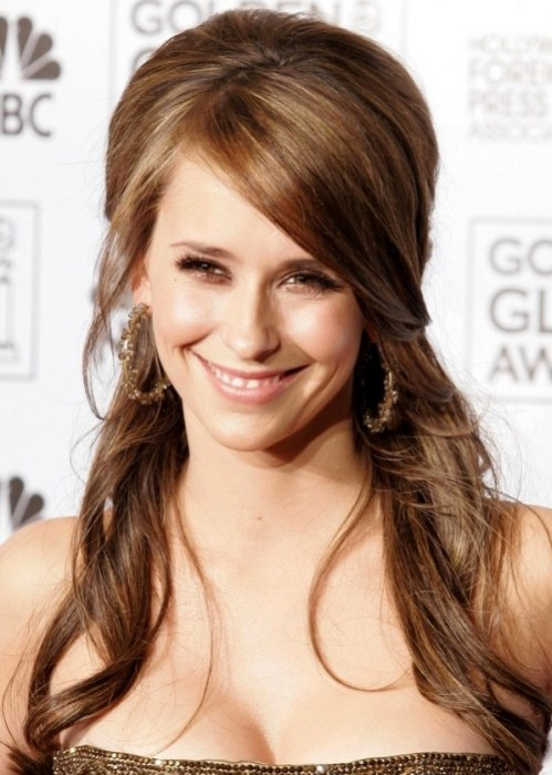 Hairstyles Up And Down : ... Celebrity Half-up Half-down Hairstyles for 2015 - Pretty Designs