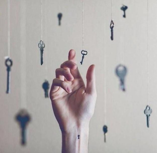Keyhole Tattoo