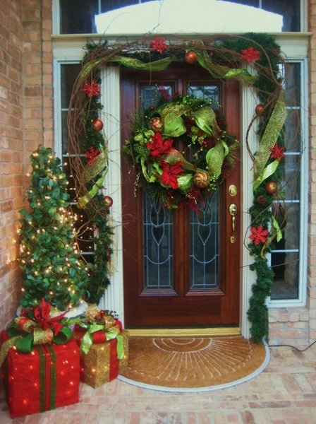 Large Wreath for Front Porch