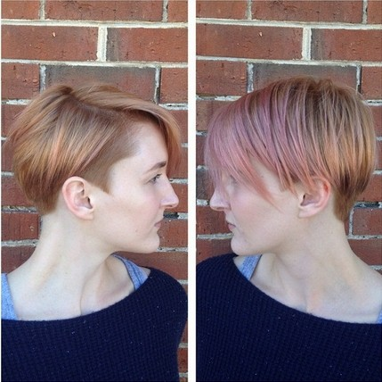 Layered Short Haircut for Thin Hair