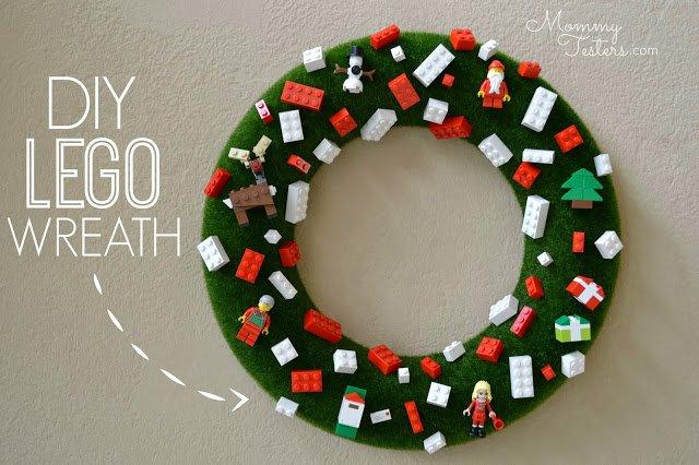 Lego Wreath