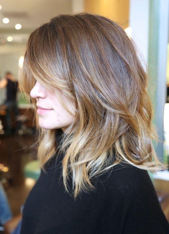 14 Fabulous Long Layered Haircuts With Bangs | Pretty Designs
