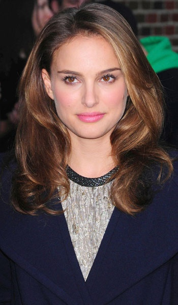 Long Wavy Natalie Portman Hairstyle