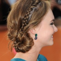 Lovely Low Bun with Tiny Braid