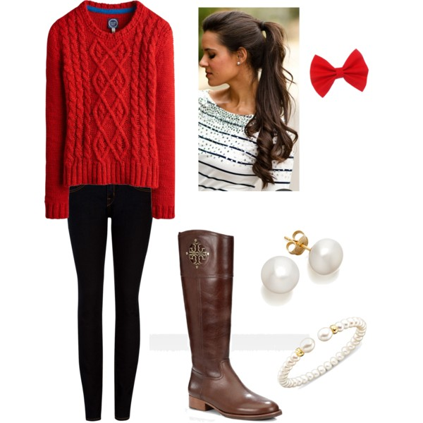 Lovely Outfit Idea for Winter