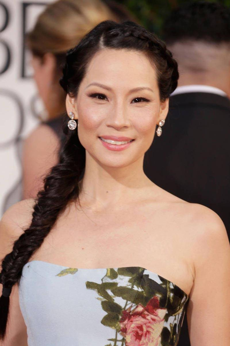 Lucy Liu Tight Braid