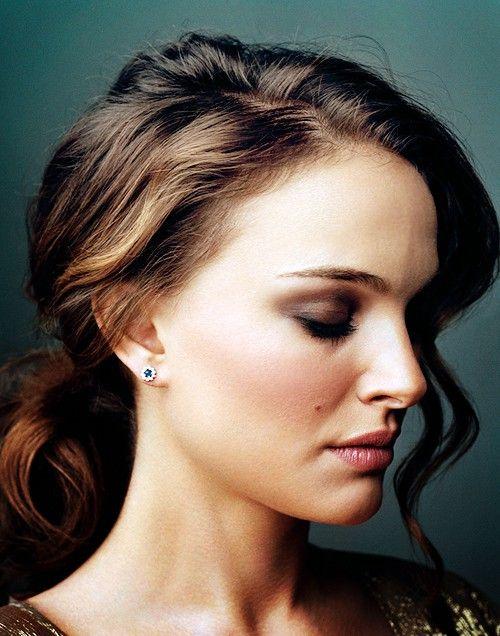 Messy Bun for Natalie Portman Hairstyles