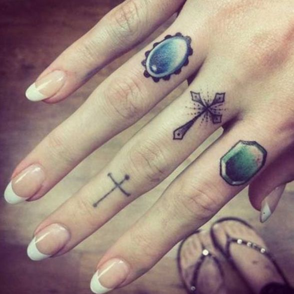 Mini Ring Tattoo