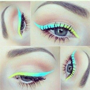 Neon Ombre Eyeliner