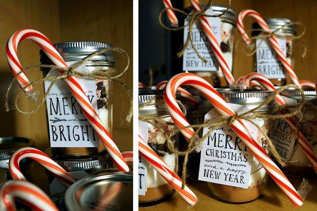 New Year Mason Jars