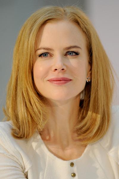 Nicole Kidman Elegant Long Bob