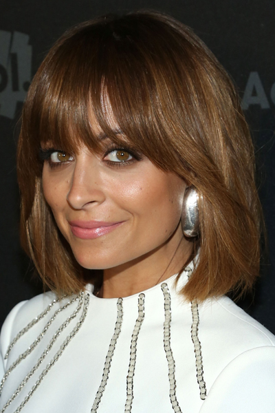 Nicole Richie Stylish Long Bob