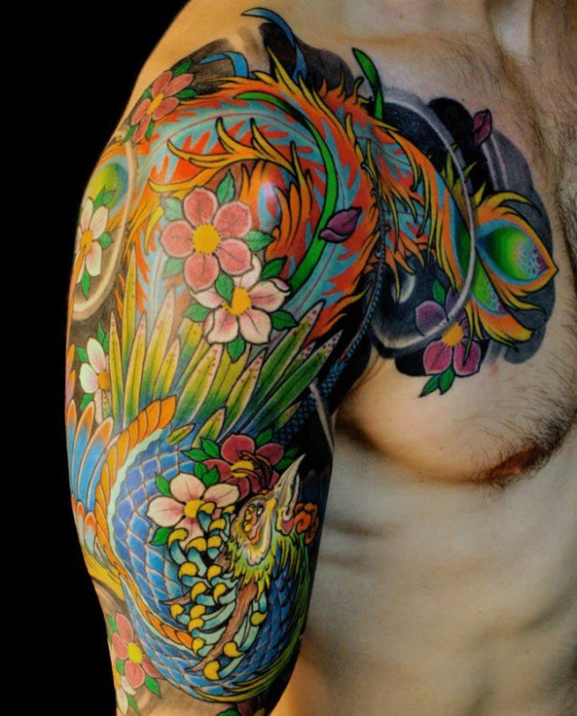 10 Colorful Tattoo Designs For You To Rock